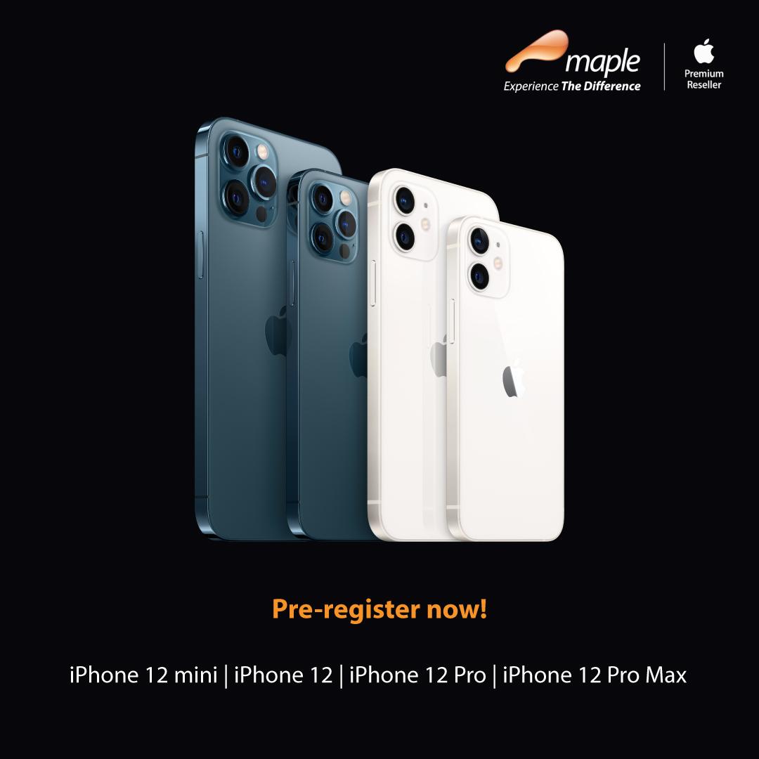 Pre Register iPhone 12 Family